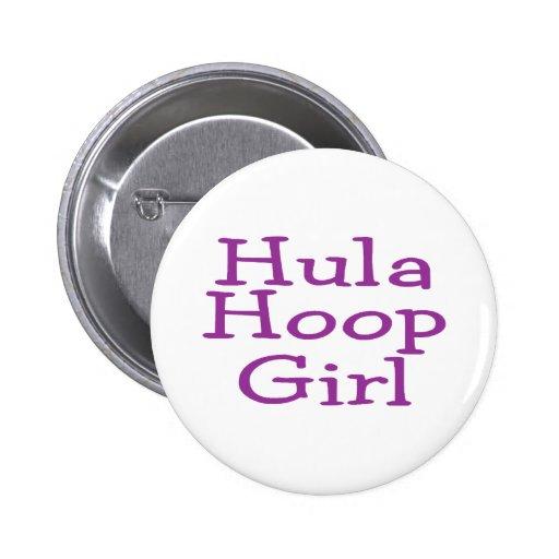 Chica del aro de Hula Pins