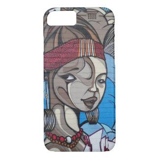 Chica del arte de la calle funda iPhone 7