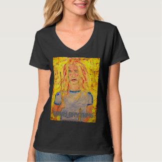 chica del batería de los ritmos del tambor camiseta