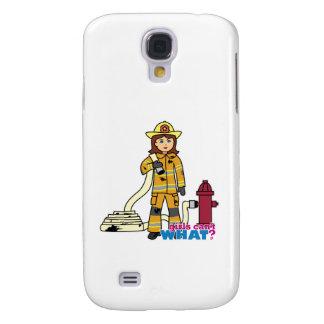 Chica del bombero funda para galaxy s4