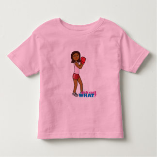 Chica del boxeo camiseta de bebé