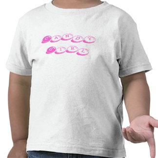 Chica del caramelo camisetas