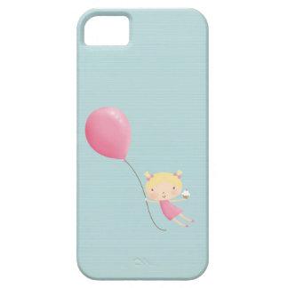 Chica del cumpleaños en cubierta del teléfono iPhone 5 cobertura