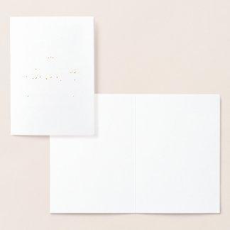 Chica del cumpleaños envejecido a la perfección tarjeta con relieve metalizado