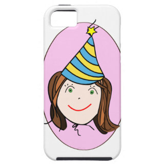 Chica del cumpleaños iPhone 5 Case-Mate coberturas