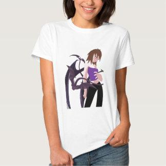 Chica del demonio camiseta