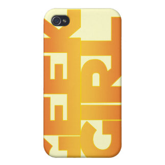 Chica del friki iPhone 4/4S carcasas