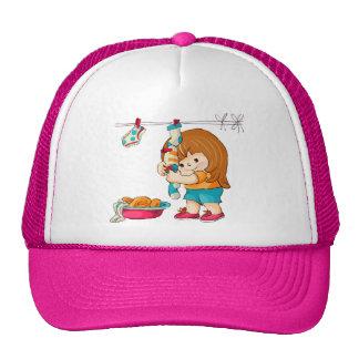 Chica del hueso gorra