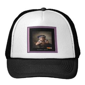 Chica del marinero - casquillo del lirio gorras