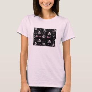 Chica del pirata camiseta