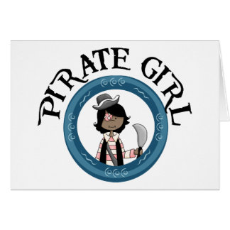 Chica del pirata felicitaciones