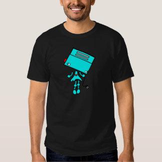 chica del robot camiseta