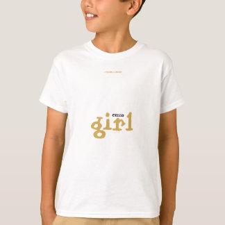 Chica del VIOLONCELO Camiseta