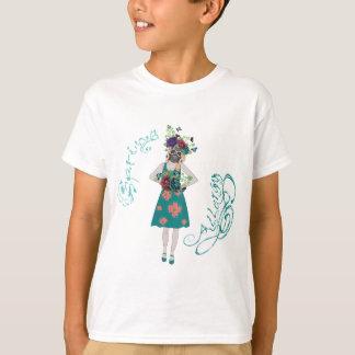 Chica en la alergia de Gasmask Camiseta