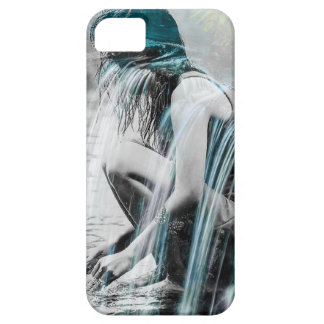 Chica en la cascada funda para iPhone SE/5/5s