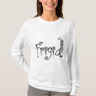 chica extraño de la muñeca de 3D Bonga - frígido Camiseta
