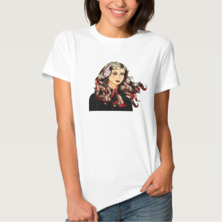 Chica Fashion Musical Camisas