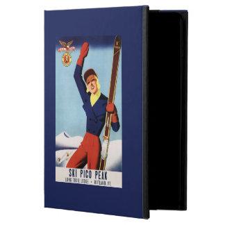 Chica flexible del esquí del Pin-Para arriba del