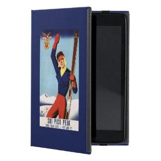 Chica flexible del esquí del Pin-Para arriba del iPad Mini Coberturas