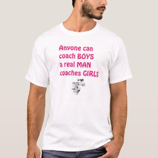 Chica-Fútbol real del coche de los hombres Camiseta