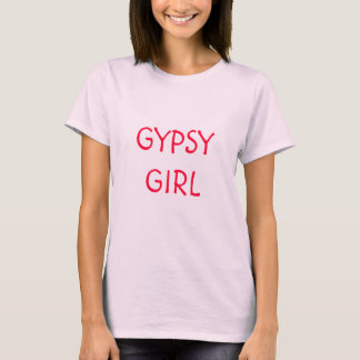 Chica gitano camiseta