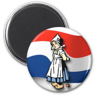 Chica holandés imanes