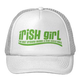Chica irlandés gorros