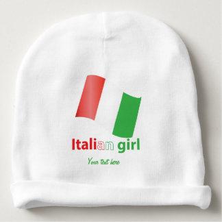 Chica italiano gorrito para bebe