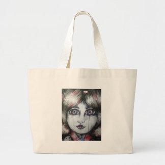 Chica joven bolsa de mano