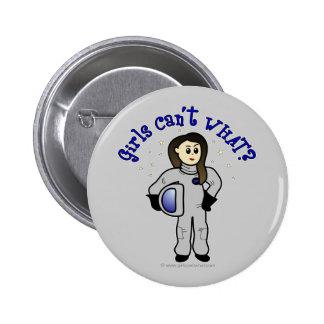 Chica ligero del astronauta pin
