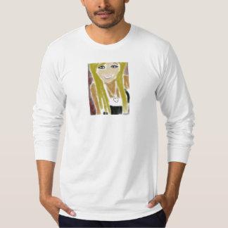 Chica lindo camiseta
