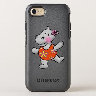 chica lindo del hipopótamo en bañador funda OtterBox symmetry para iPhone 7