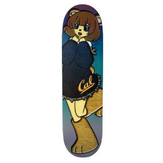 Chica lindo del oso de la caloría patines personalizados