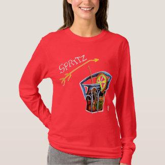 Chica marchosa - Spritz las camisetas de Aperol