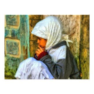 Chica marroquí