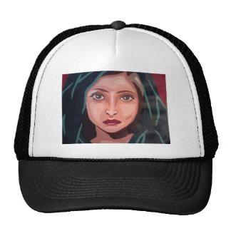 chica musulmán gorras