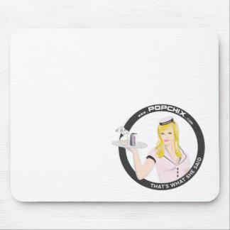 Chica rubio Mousepad de PopChiX Alfombrilla De Ratón