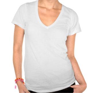 """chica sin pareja"" V-recorte T-shirt sabe"