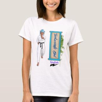 "Chica"" T de Scolletta el ""Taekwondo Camiseta"