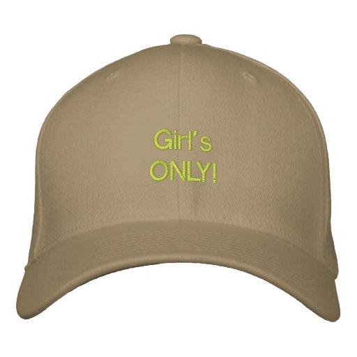 ¡Chica ÚNICO! Gorras De Beisbol Bordadas