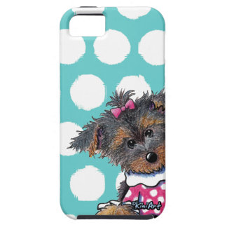 Chica Yorkie de Girlie Funda Para iPhone SE/5/5s