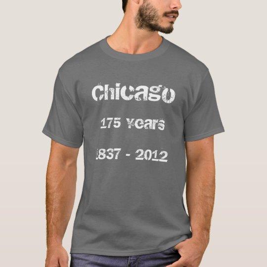 Chicago 175 años camiseta