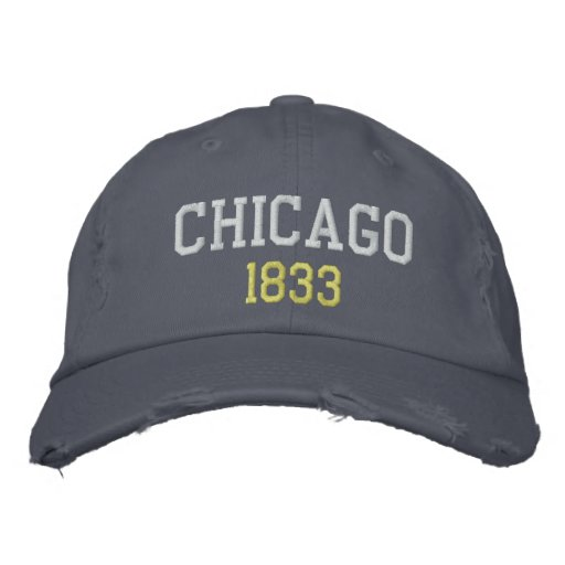 Chicago, 1833 gorras bordadas