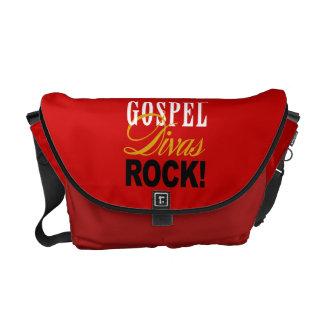 """¡CHICAGO BLING - """"roca de las divas del evangelio! Bolsas Messenger"""