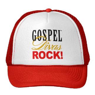 """¡CHICAGO BLING - """"roca de las divas del evangelio! Gorras De Camionero"""