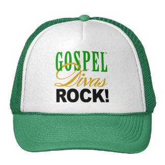 """¡CHICAGO BLING - """"roca de las divas del evangelio! Gorros Bordados"""