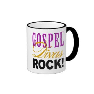 """¡CHICAGO BLING - """"roca de las divas del evangelio! Taza De Dos Colores"""