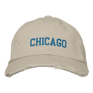 Chicago bordó el gorra gorros bordados