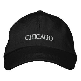Chicago bordó el gorra gorra de béisbol bordada