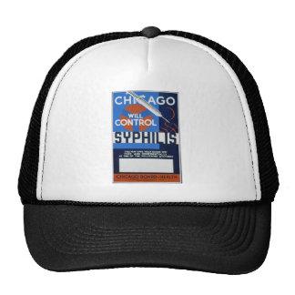 Chicago controlará sífilis gorras
